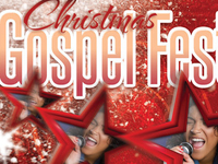 Christmas Gospel Fest CD Artwork Template