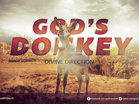 God's Donkey Church Flyer Template
