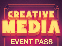 Creativemedia Event Pass Template