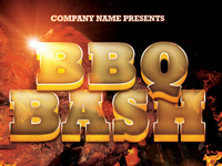BBQ Bash Event Flyer Template