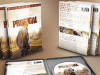 Prodigal DVD Artwork Template
