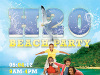 H20 Beach Party Flyer Template