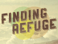 Finding Refuge Flyer and CD Template