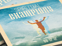 Spiritual Champions Church Flyer And Cd Template Tmb
