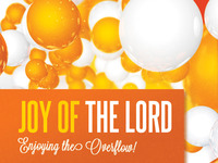 Joy of the Lord Church Flyer and CD Template