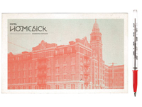 Homesick  Postcard