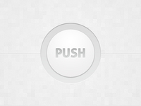 Minimal White Button