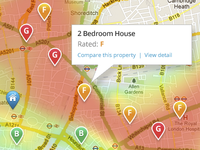 Property Rating Heat Map
