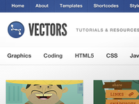 Vectors WordPress Theme