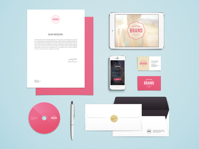 Download PSD Branding Mock up