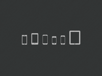 Mobile Devices Icons