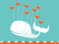 Lifting A Dreamer (aka. Twitter Fail Whale)