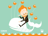 Conan O'Brien Pale Whale