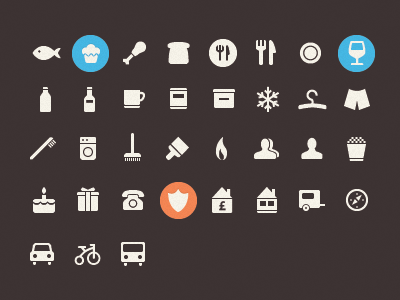 Glyph ICON Fonts