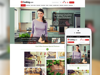 Cooking.com Responsive Redesign