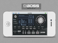 Boss BR-80 iphone app