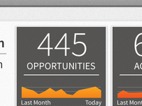 iPad App Dashboard Detail
