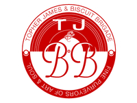 Topher James & Biscuit Brigade Logo