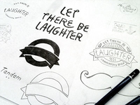 Let There Be Laughter label