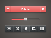 Photo Tool UI [PSD]