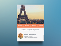 Paris Widget [Freebie]