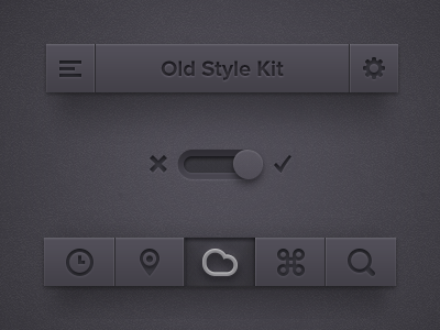 Download Old Style UI Kit