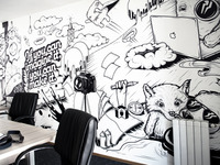 Appricot Office Wall