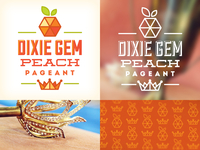 Dixie Gem Peach Pageant Identity