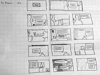 Story Boarding for a Book Design