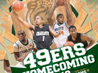UNCC Homecoming Poster