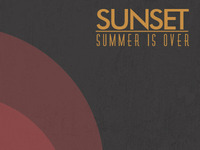 Sunset - Summer is over