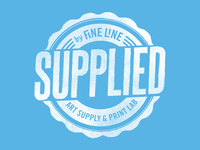 Fine Line Art Supply & Print Lab T-shirt Design