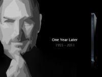 Tribute to Steve Jobs One year Later