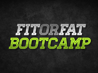 Fit or Fat Bootcamp Logo