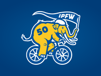 IPFW Sculpture with Purpose Mastodon