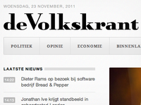Dutch newspaper website redesign