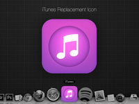 iTunes for OS X inspired by iOS 7