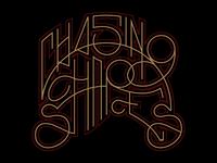 Chasing Shapes Type