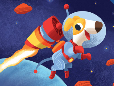 Space dog space dog by ellis latham