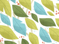 Leaf Green Pattern