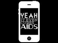 iPhone AIDS cure