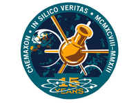 Fake space mission patch