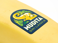 Banana label design