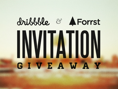 Dribbble-forst-invitation-giveaway