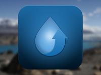 iOS icon - WaterUP