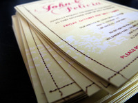 JG Wedding Invite