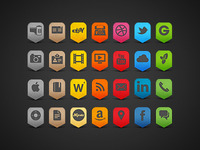 Iphone 4 Icons Set