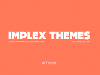 Implex Themes