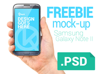 Freebie hand & phone mock-up