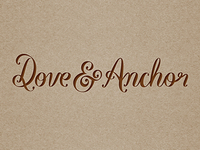 Dove Anchor Small Logo